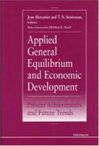 9780472103829: Applied General Equilibrium and Economic Development: Present Achievements and Future Trends