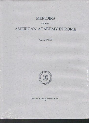 9780472106097: Cosa III (The Memoirs of the American Academy in Rome)