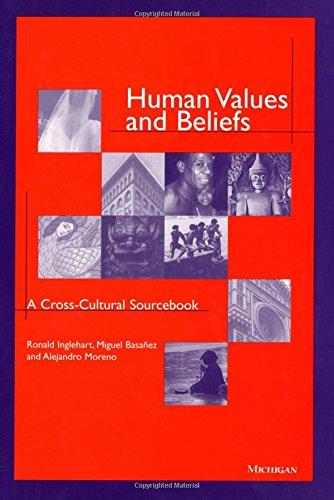 9780472108336: Human Values and Beliefs: A Cross-Cultural Sourcebook