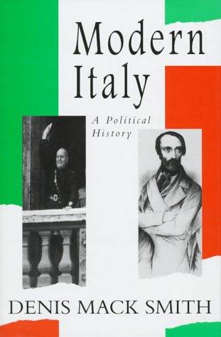9780472108954: MODERN ITALY: A POLITICAL HISTORY