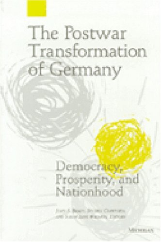9780472109937: The Postwar Transformation of Germany: Democracy, Prosperity and Nationhood