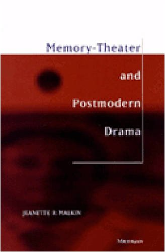 9780472110377: Memory-Theater and Postmodern Drama (Theater: Theory/Text/Performance)