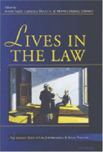 Lives in the Law (Hardback)