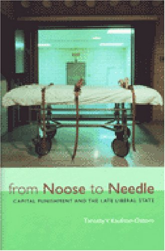 9780472112913: From Noose to Needle: Capital Punishment and the Late Liberal State (Law, Meaning, and Violence)