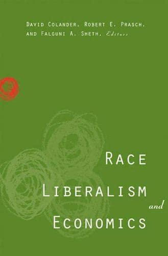 9780472113569: Race, Liberalism, and Economics