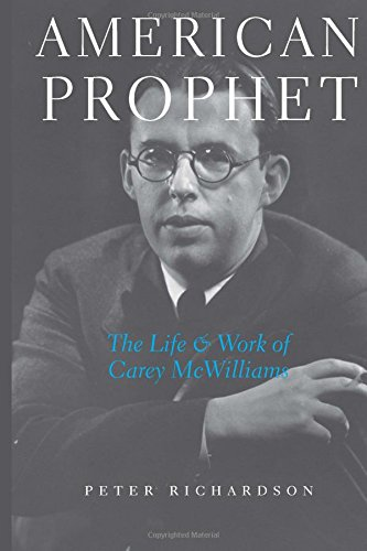 9780472115242: American Prophet: The Life and Work of Carey McWilliams