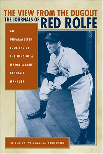 9780472115464: The View from the Dugout: The Journals of Red Rolfe