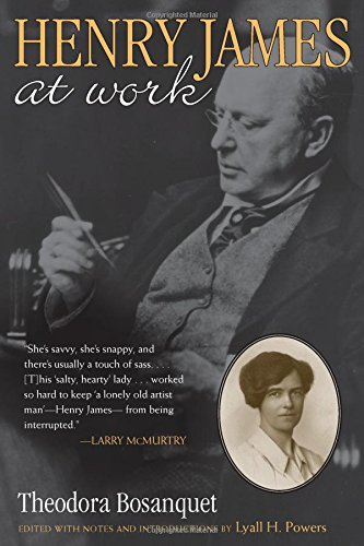 9780472115716: Henry James at Work: With Excerpts from Her Diary and an Account of Her Professional Career