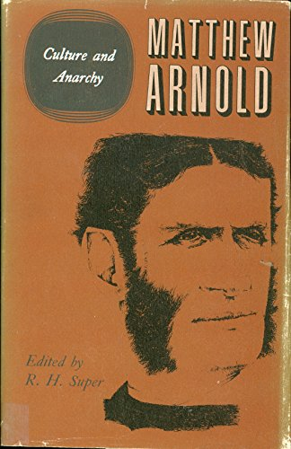 9780472116553: The Complete Prose Works of Matthew Arnold: Volume V. Culture and Anarchy (The Complete Prose Works of Matthew Arnold, Volume 5) (v. 5)