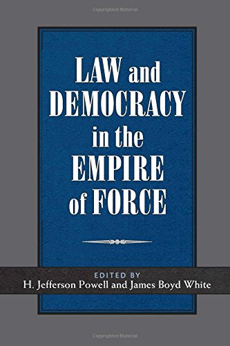 9780472116843: Law and Democracy in the Empire of Force