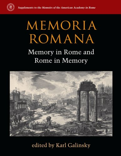 9780472119431: Memoria Romana: Memory in Rome and Rome in Memory (Supplements to the Memoirs of the American Academy in Rome)
