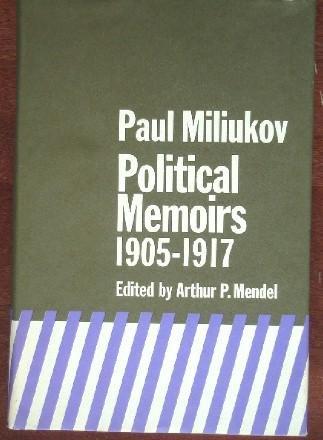 9780472651009: Political Memoirs, 1905-1917
