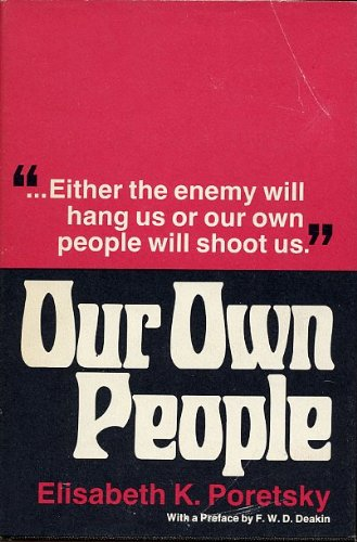 9780472735006: Our own people;: A memoir of 'Ignace Reiss' and his friends