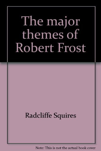 9780472868803: The Major Themes of Robert Frost