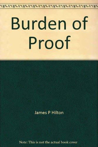 9780473016890: Burden of proof