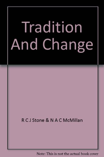 Tradition and Change Mount Albert Grammar School: The First Seventy-five Years (047304689X) by R.C.J. Stone; N.A.C. McMillan