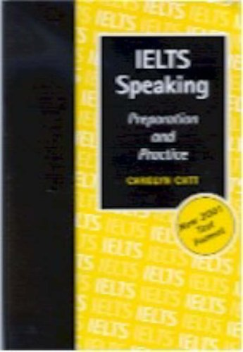 9780473081157: IELTS Speaking: Preparation and Practice