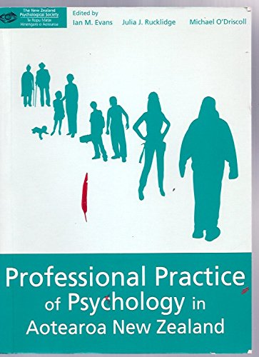9780473124694: Professional Practice of Psychology in Aotearoa New Zealand