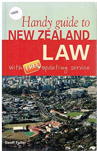 9780473129385: Handy Guide to New Zealand Law