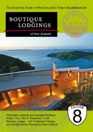 9780473164874: Boutique Lodgings of New Zealand 8th Edition