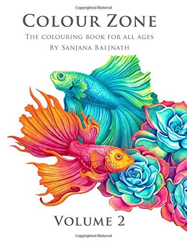 9780473343569: Colour Zone Volume 2: The colouring book for all ages