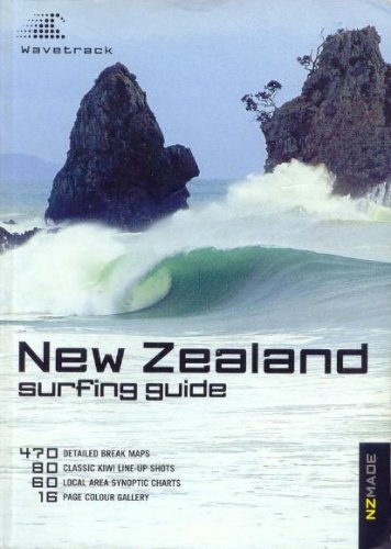 9780476009424: New Zealand Surfing Guide