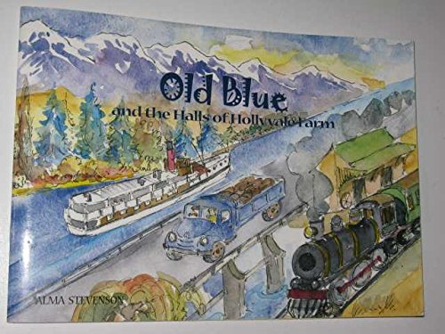 9780476010765: Old Blue and the Halls of Hollyvale Farm