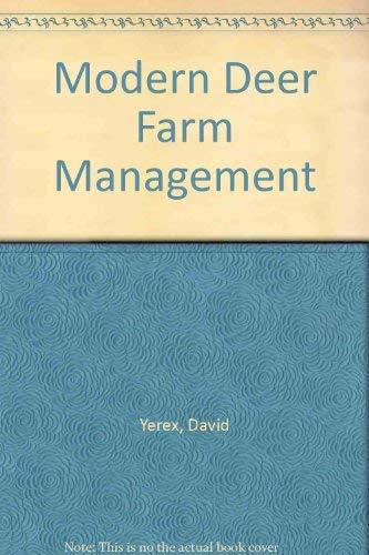 9780477000017: Modern Deer Farm Management