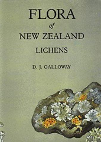 9780477012669: Flora of New Zealand: Lichens