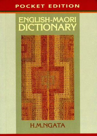 9780478057997: English-Maori Dictionary (Pocket Edition)