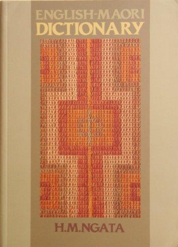 9780478058451: English-Maori dictionary