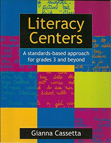 9780478129090: Literacy Centers A standards-based approach for grades 3 and beyond