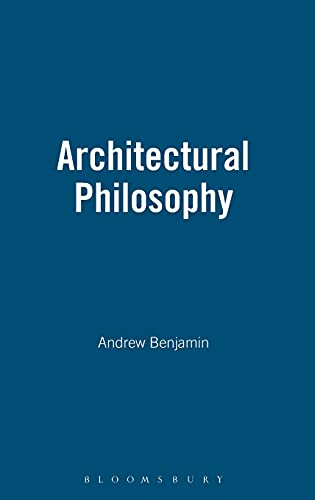 9780485004151: Architectural Philosophy