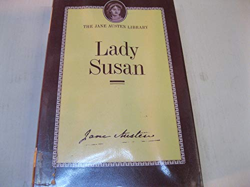 9780485105001: Lady Susan (The Jane Austen library)