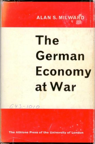 9780485110753: German Economy at War