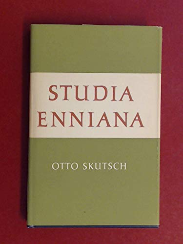 9780485110906: Studia Enniana