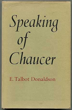 9780485111125: Speaking of Chaucer