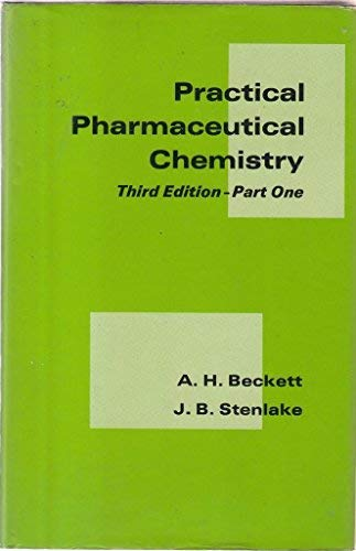 9780485111569: Practical Pharmaceutical Chemistry: Pt. 1