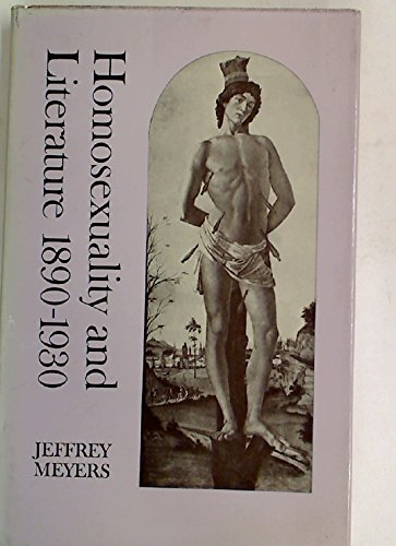 9780485111682: Homosexuality and Literature: 1890-1930 (Gender Studies: Bloomsbury Academic Collections)