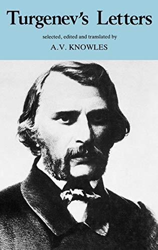 Turgenev's Letters (European Thought) (0485112108) by Turgenev, Ivan
