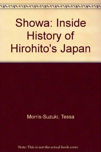 9780485112467: Showa: An Inside History of Hirohito's Japan