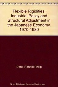 9780485112696: Flexible Rigidities: Industrial Policy and Structural Adjustment in the Japanese Economy, 1970-1980