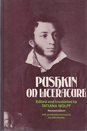 9780485112979: Pushkin on Literature