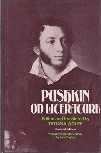 9780485112979: Pushkin on Literature: The Bicentennial Edition (European Thought)