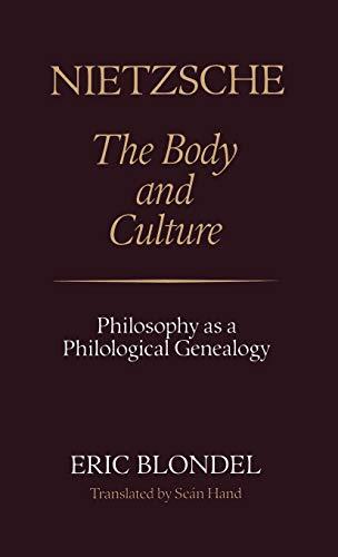 9780485113914: Nietzsche: The Body and Culture