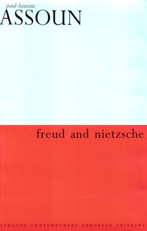 9780485114836: Freud and Nietzsche (Athlone Contemporary European Thinkers)