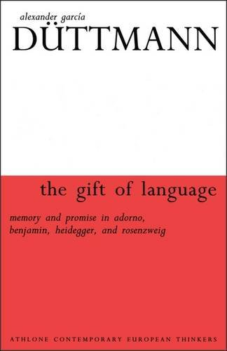 9780485114898: Gift of Language (Athlone Contemporary European Thinkers)