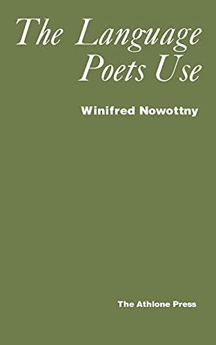 9780485120097: Language Poets Use