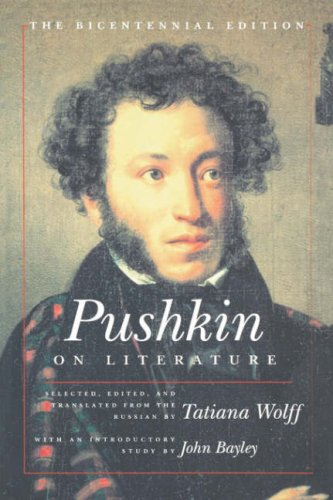 9780485121353: Pushkin on Literature: The Bicentennial Edition (European thought)