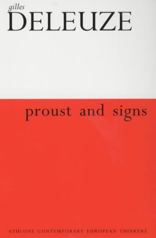 9780485121414: Proust and Signs: Revised and Expanded Edition (Athlone Contemporary European Thinkers)